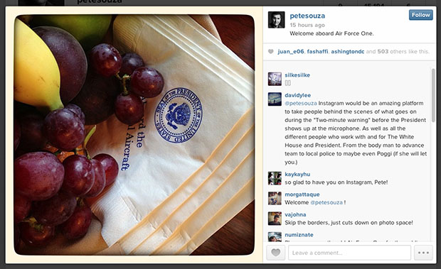 Chief White House Photog Pete Souza is Now an Instagrammer healthy