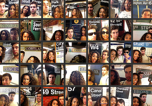 Couple Captures Selfies at Each of the 118 Subway Stations in Manhattan subwaystations