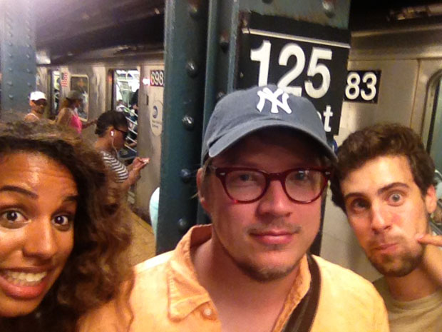 Couple Captures Selfies at Each of the 118 Subway Stations in Manhattan subwaystops 3