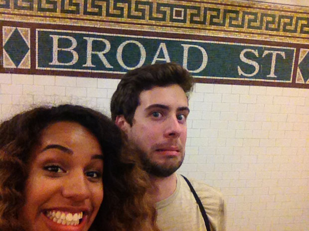 Couple Captures Selfies at Each of the 118 Subway Stations in Manhattan subwaystops 6