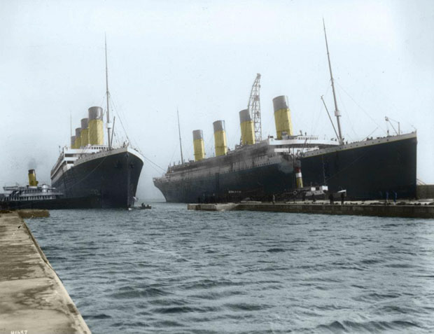 Colorized 1912 Photographs of the Titanic 313