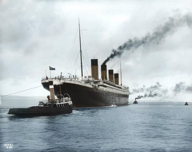 Colorized 1912 Photographs of the Titanic 410