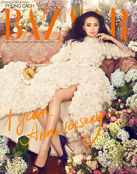 An Interview with Photographer Zhang Jingna Harpers Bazaar VN July 2012 Cover Final