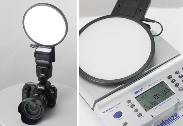 LightRight Combines an LED Panel with a Flash Diffuser for Video and Portraits LightBright Stock 1