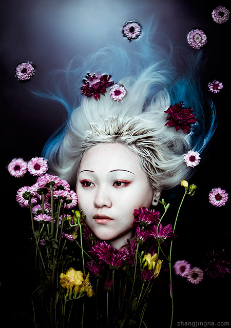 An Interview with Photographer Zhang Jingna Motherland Chronicles 7 Self Portrait in Water