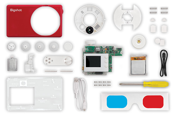 Bigshot DIY Digital Camera Teaches Kids About Electronics and Photography bigshot1