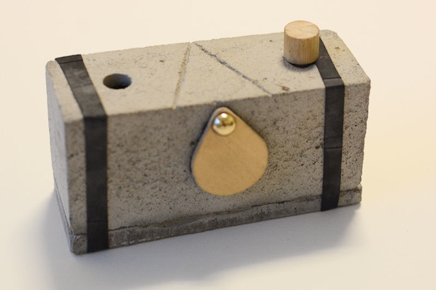 DIY: How to Make a Pinhole Camera Out of Concrete concretecamera1