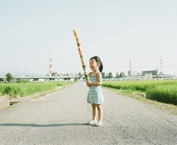 A Japanese Dads Imaginative Conceptual Portraits of His 4 Year Old Daughter daughter5