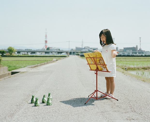 A Japanese Dads Imaginative Conceptual Portraits of His 4 Year Old Daughter daughter9