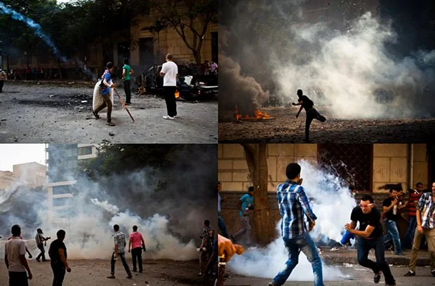 A First Person View of What Its Like to Photograph Protests in Egypt egypt