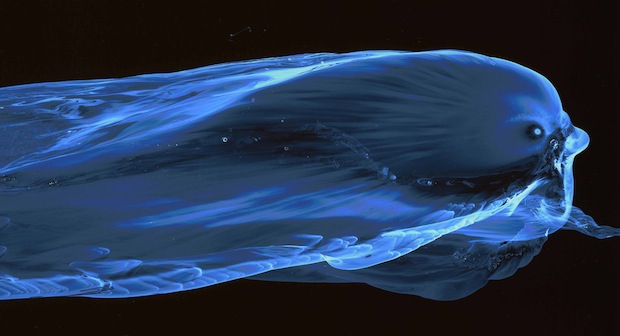 Striking Images Capture the Movement of Water Using a Special Nanoparticle Film facesofwater7