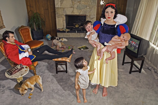 Fallen Princesses Photo Series Paints a Bleak Picture of Happily Ever After fallen1