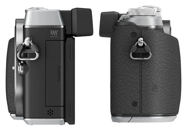 Panasonic GX7 is a 16MP Mirrorless with In Body Stabilization and a Tiltable EVF gx7sideb