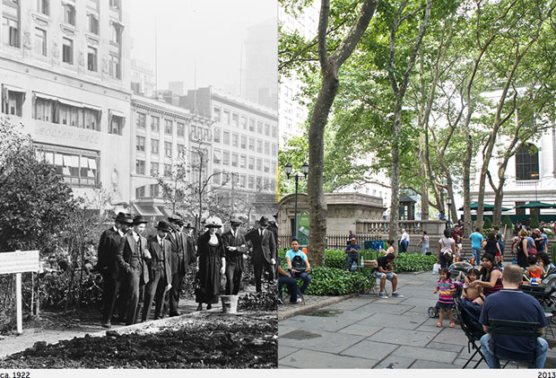 Then and Now Photos of New York City  nycbeforeafter 13