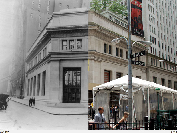 Then and Now Photos of New York City  nycbeforeafter 2