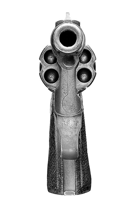 Photo Series Offers a Point Blank View of Different Guns pointblank1