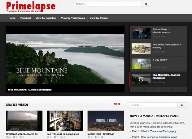 Primelapse Brings Together Quality Time Lapses from Around the World primelapse1