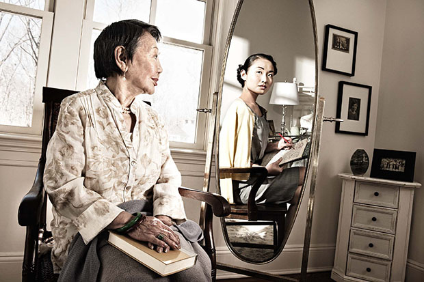 Reflections: Portraits of the Elderly Seeing Their Younger Selves reflections21