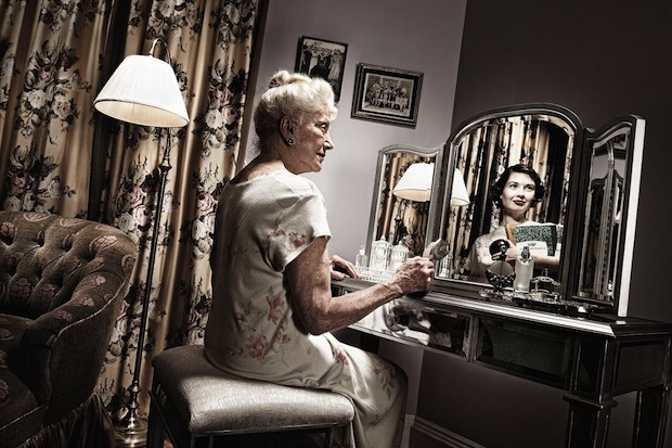 Reflections: Portraits of the Elderly Seeing Their Younger Selves reflections6