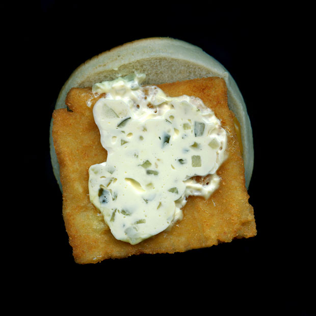 Pictures of Fast Food, Captured Using a Flatbed Scanner scannedfastfoods 7
