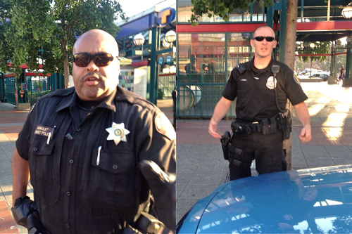 Seattle Newspaper Editor Threatened With Arrest for Taking Photos of Police seattlepolice