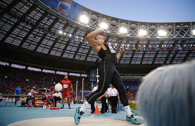 Nearly Deleted Photo Overturns Foul Call, Clinches Gold Medal for Shot Putter shotput1
