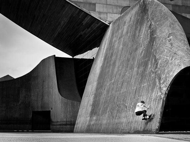Amazing Skateboarding Self Portraits by Fabiano Rodrigues skateboard selfportraits 4