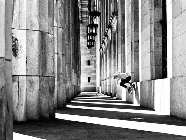Amazing Skateboarding Self Portraits by Fabiano Rodrigues skateboard selfportraits 5