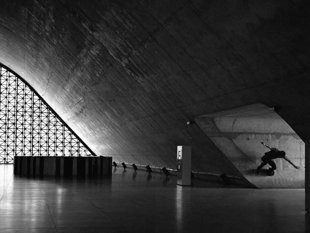 Amazing Skateboarding Self Portraits by Fabiano Rodrigues skateboard selfportraits 7