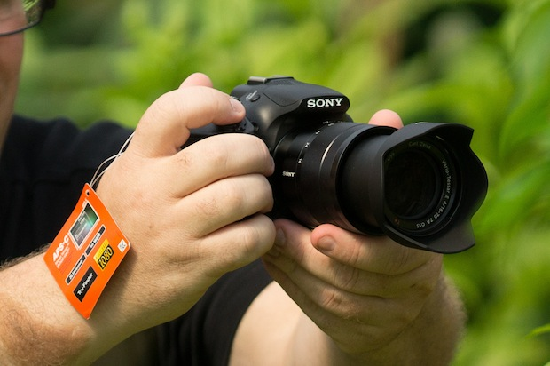 Sonys Soon to be Announced A3000 E Mount Camera Spotted in the Wild sonya3000 1