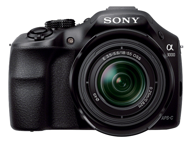 Sony Officially Unveils the A3000 DSLR Style E Mount Camera sonyalpha3000 2