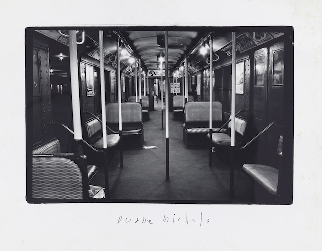 Empty New York, c. 1964, Vintage gelatin silver print, 4 3/4 x 7 1/4 inches (image); 8 x 10 inches (paper)