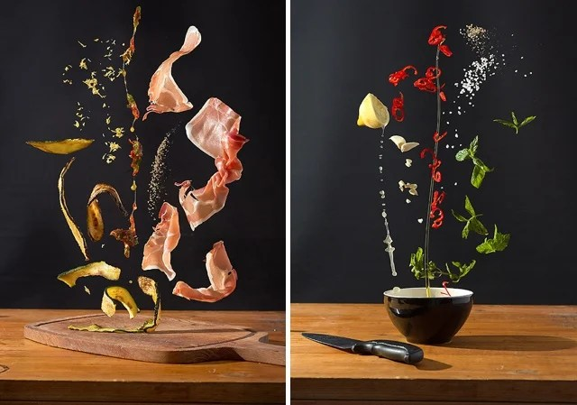 Scrumptious Recipes Turned Into Colorful Photos of