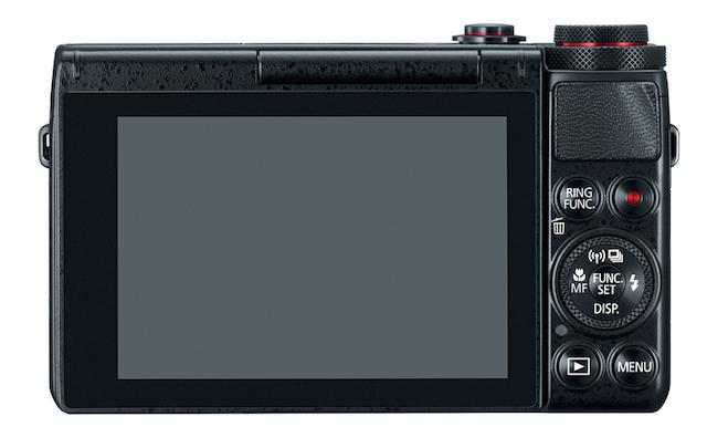 Canon G7 X er svært renskåret og mimimalistisk.