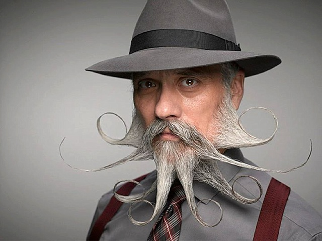 Portraits From The 2014 World Beard And Mustache Championships