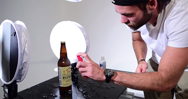 How to Capture a Complex 5Light Beer Bottle Product Shot