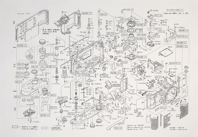 Incredibly Detailed Diagram Shows an Exploded View of