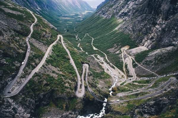 beauty of norwegian landscapes