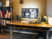 How I Built a Custom Desk and Wire-Free Workspace for My ...