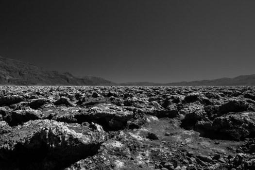 Devil's Golf Course, Death Valley National Park, California.