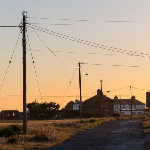 Sunset, Lydd-on-Sea.