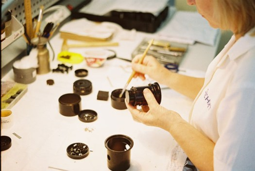 Assembling a New Petzval 85 Black Edition Lens.