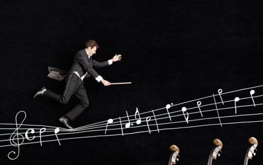 Simon Gaudenz, Conductor in the style of Jan von Holleben