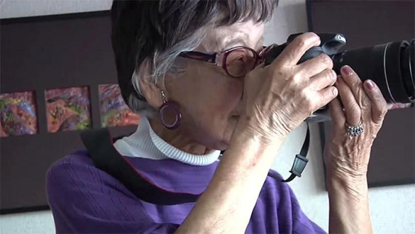97yearsold - A fotógrafa mais velha do mundo tem 101 anos