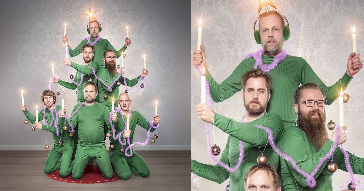 This Is A Norwegian Camera Shops Christmas Photo