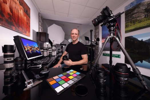 Bryan Carnathan Environmental Studio Portrait
