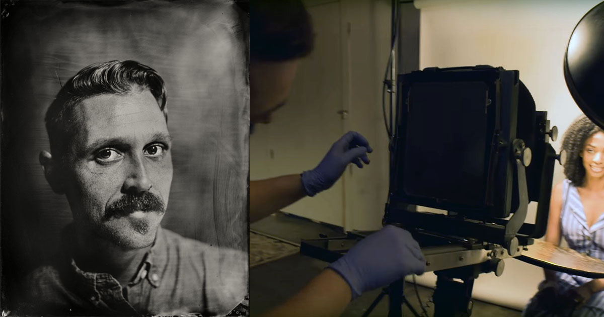 A Tintype Portrait Photographer Shares a Glimpse of His Craft
