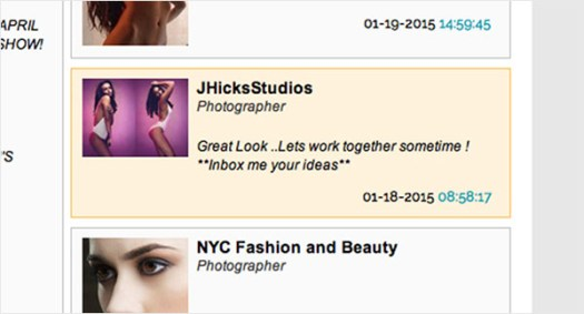 Not too long ago I was informed of another  little parasite on Model Mayhem operating under the name JHicksStudios and using my images to set up photo shoots with new models. This sort of thing sickens and terrifies me: I shudder to think what his real intentions are for setting up photo shoots with young girls.