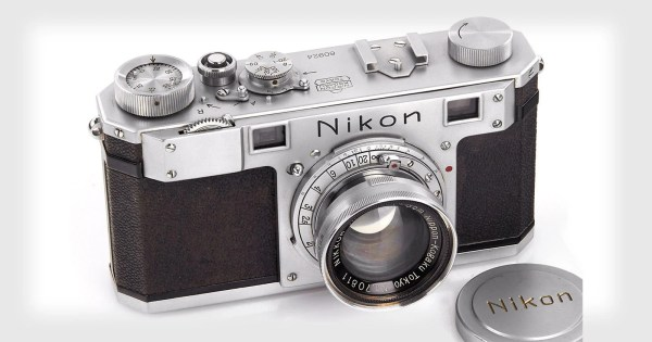 Oldest Nikon Camera Sold Whopping 409 000
