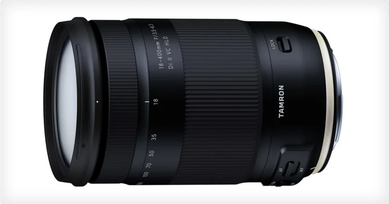 Tamron Unveils the World's First 18-400mm Lens